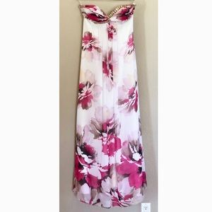 Elegant floral dress